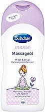 Parfémy, Parfumerie, kosmetika Masážní olej - Bubchen Mama Massage Oil