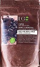 """Parfémy, Parfumerie, kosmetika Peeling na obličej a tělo """"Káva a čokoláda"""" - ECO Laboratorie Face And Body Scrub Coffee & Chocolate"""