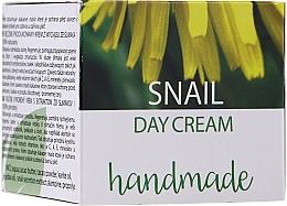 Parfémy, Parfumerie, kosmetika Děnní pleťový krém s hlemýždím extraktem - Hristina Cosmetics Handmade Snail Day Cream