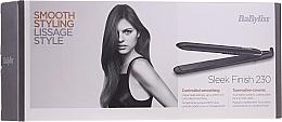 Parfémy, Parfumerie, kosmetika Žehlička na vlasy - BaByliss ST255E Sleek Finish 230