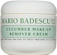 Parfémy, Parfumerie, kosmetika Odličovací krém - Mario Badescu Cucumber Make-up Remover Cream