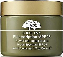 Parfémy, Parfumerie, kosmetika Pleťový krém proti stárnutí - Origins Plantscription SPF25 Power Anti-Aging Cream
