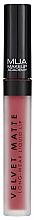 Parfémy, Parfumerie, kosmetika Tekutá matná rtěnka - MUA Academy Velvet Matte Long-Wear Liquid Lip (Dash)