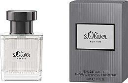 Parfémy, Parfumerie, kosmetika S.Oliver For Him - Toaletní voda