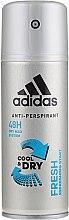 Parfémy, Parfumerie, kosmetika Deodorant - Adidas Anti-Perspirant Fresh Cool Dry 48h