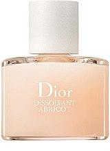 Parfémy, Parfumerie, kosmetika Tekutina pro měkké odstranění laku - Dior Dissolvant Abricot Gentle Polish Remover