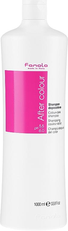Šampon pro barvené vlasy - Fanola After Colour-Care Shampoo