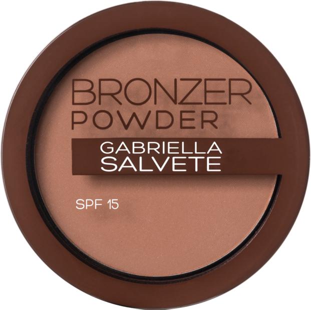 Bronzující pudr - Gabriella Salvete Bronzer Powder SPF15