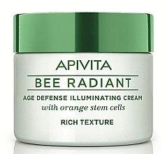 Parfémy, Parfumerie, kosmetika Nasycený krém na obličej - Apivita Bee Radiant Rich Cream