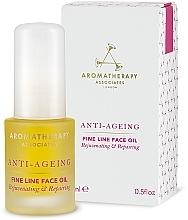 Parfémy, Parfumerie, kosmetika Anti-age olej proti vráskám - Aromatherapy Associates Anti-Ageing Fine Line Face Oil