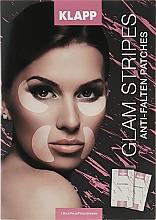 Parfémy, Parfumerie, kosmetika Náplasti na obličej - Klapp Glam Stripes Anti Wrinkle Patches