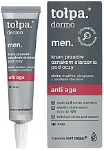 Parfémy, Parfumerie, kosmetika Anti-age oční krém - Tolpa Dermo Men. Anti Age
