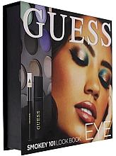 Parfémy, Parfumerie, kosmetika Sada - Guess Beauty Smokey 101 Eye Lookbook (mascara/4ml + eyeliner/0.5g + 12xeye/sh/1.96g)