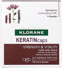 Parfémy, Parfumerie, kosmetika Kapsle na vlasy a nehty - Klorane Keratincaps
