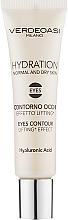 Parfémy, Parfumerie, kosmetika Gel pro pleť kolem očí - Verdeoasi Hydrating Eyes Contour Lifting Effect