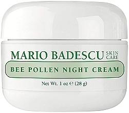 Parfémy, Parfumerie, kosmetika Noční pleťový krém s extraktem z včelího pylu - Mario Badescu Bee Pollen Night Cream