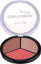 Parfémy, Parfumerie, kosmetika Paleta na konturování - Vollare Cosmetics Contouring Palette Bronzer, Shimmer, Blusher