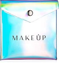 "Parfémy, Parfumerie, kosmetika Kosmetička taška pro pudr průhledná ""Holographic"", 12x12cm - MakeUp"