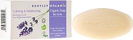 """Parfémy, Parfumerie, kosmetika Mýdlo """"Hydratační a zklidňující"""" - Bentley Organic Body Care Calming & Moisturising Soap Bar"""
