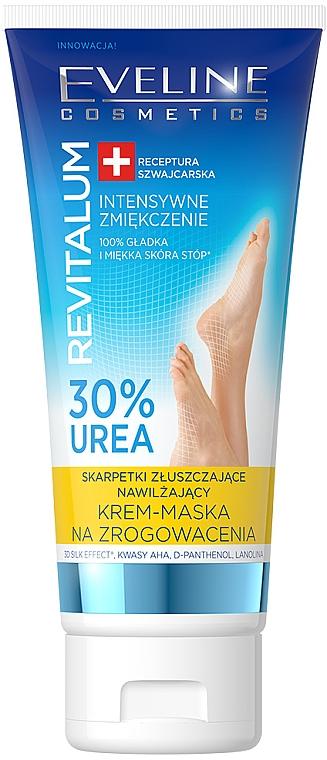 Maska proti mozolům - Eveline Cosmetics Revitalum 35% Urea