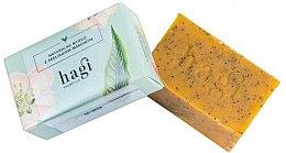 Parfémy, Parfumerie, kosmetika Přírodní mýdlo s rakytníkovým olejem a mákem - Hagi Natural Soap