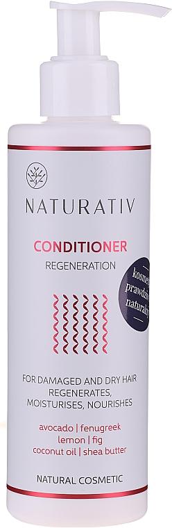 "Kondicionér na vlasy ""Obnovení"" - Naturativ Regeneration Conditioner — foto N1"