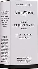 Parfémy, Parfumerie, kosmetika Omlazující pleťové sérum - AromaWorks Rejuvenate Face Serum Oil