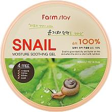 Parfémy, Parfumerie, kosmetika Gel s hlemýždím mucinem - FarmStay Moisture Soothing Gel Snail