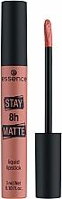 Parfémy, Parfumerie, kosmetika Tekutá rtěnka - Essence Stay 8H Matte Liquid Lipstick