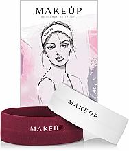 """Parfémy, Parfumerie, kosmetika Sada """"Kosmetické obvazy"""" - MakeUp Marsala & White"""