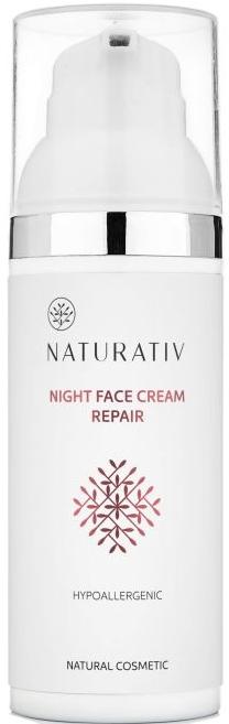 Noční krém na obličej - Naturativ Facial Night Cream — foto N1