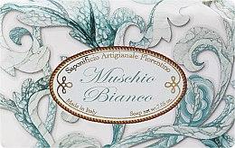 Parfémy, Parfumerie, kosmetika Toaletní mýdlo Bílé pižmo - Saponificio Artigianale Fiorentino White Musk