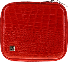 Parfémy, Parfumerie, kosmetika Pouzdro na manikúrové nářadí, CS-08, červený - Staleks Case For Manicure Tools
