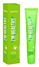 """Parfémy, Parfumerie, kosmetika Přírodní zubní pasta """"Prevence onemocnění dásní a komplexní péče"""" - Spasta I Am Healthy Toothpaste"""