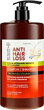 Parfémy, Parfumerie, kosmetika Šampon pro slabé a náchylné k vypadávání vlasy s pumpičkou - Dr. Sante Anti Hair Loss Shampoo
