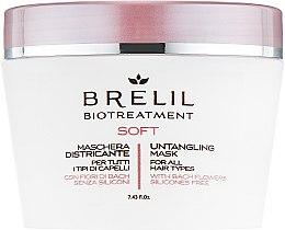Parfémy, Parfumerie, kosmetika Maska pro nepoddajné vlasy - Brelil Bio Treatment Soft Untangling Mask
