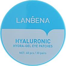 Parfémy, Parfumerie, kosmetika Hydratační hydrogelové náplasti pod oči - Lanbena Hyaluronic Acid Collagen Gel Moisturizing Eye Patch