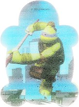 Parfémy, Parfumerie, kosmetika Dětská koupelová houba Želvy ninja Leonardo 4 - Suavipiel Turtles Bath Sponge