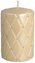 Parfémy, Parfumerie, kosmetika Dekorativní svíčka, 10 cm, krémová - Artman Florence Candle