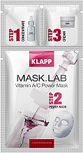"Parfémy, Parfumerie, kosmetika Maska ""Vitamin A/C"" - Klapp Mask Lab Vitamin A/C Power Mask"