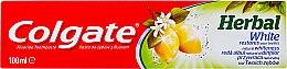 Parfémy, Parfumerie, kosmetika Bělící zubní pasta - Colgate Herbal White With Lemon Oil