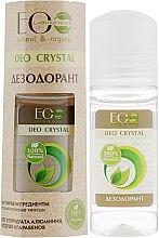 """Parfémy, Parfumerie, kosmetika Tělový deodorant """"Přírodní"""" - ECO Laboratorie Deo Crystal"""