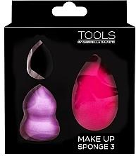 Parfémy, Parfumerie, kosmetika Sada houbiček na make-up - Gabriella Salvete Make-up Sponge Kit (3ks)