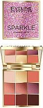 Parfémy, Parfumerie, kosmetika Paleta očních stínů - Eveline Cosmetics Sparkle