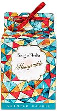 """Parfémy, Parfumerie, kosmetika Aromatická svíčka ve skleněné nádobě """"Zimolez"""" - Song of India Honeysuckle Candle"""