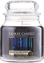 Parfémy, Parfumerie, kosmetika Svíčka ve skleněné nádobě - Yankee Candle Dreamy Summer Nights