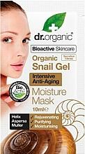 Parfémy, Parfumerie, kosmetika Anti-age pleťová maska s mucínem hlemýžďů - Dr. Organic Bioactive Skincare Snail Gel Moisture Mask