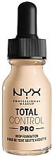 Parfémy, Parfumerie, kosmetika Make-up - NYX Professional Total Control Pro Drop Foundation