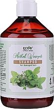 Parfémy, Parfumerie, kosmetika Šampon pro poškozené vlasy - Eco U Herebal Vinegar Shampoo