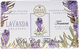 "Parfémy, Parfumerie, kosmetika Mýdlo ""Levandule"" - Nesti Dante Dei Colli Fiorentini Soap"